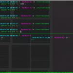 tmuxでマウス操作を便利に! tmux.confファイルを作って設定をカスタマイズする。